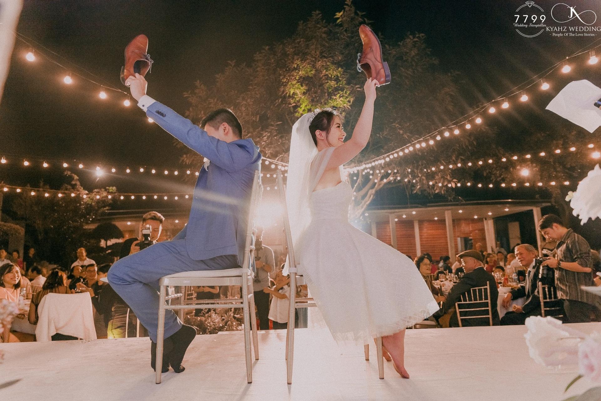 Xu hướng tổ chức đám cưới ngoài trời