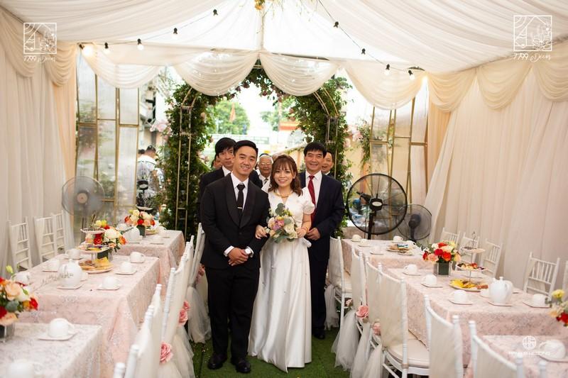 Ứng dụng bộ mẫu Concept Church trong đám cưới