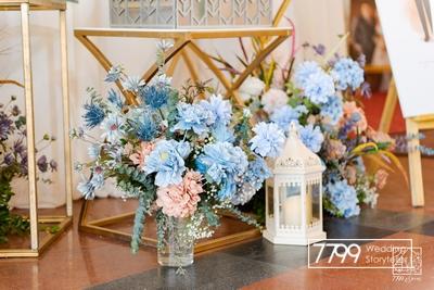 Ice Blue - Sắc xanh lạ cho ngày cưới