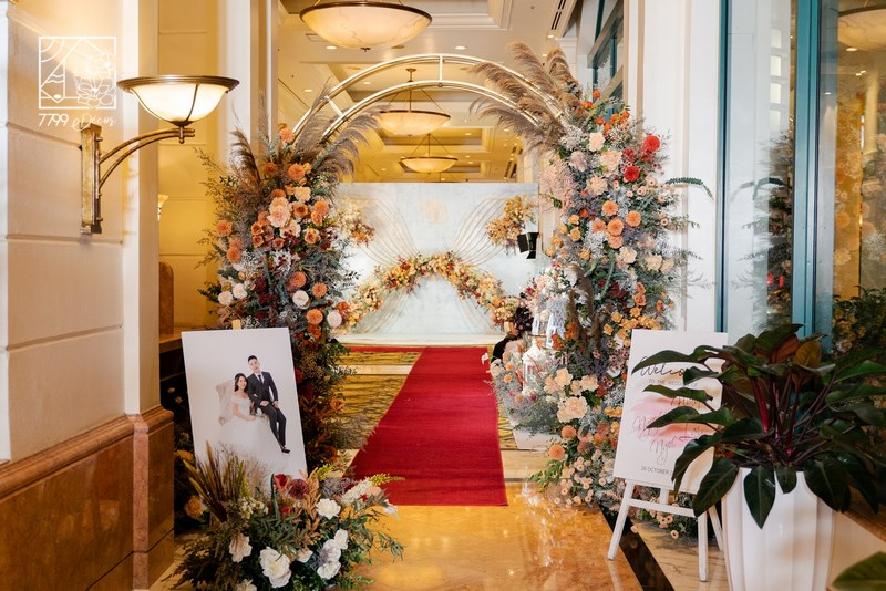 Trang trí đám cưới tại khách sạn Hanoi Daewoo Hotel