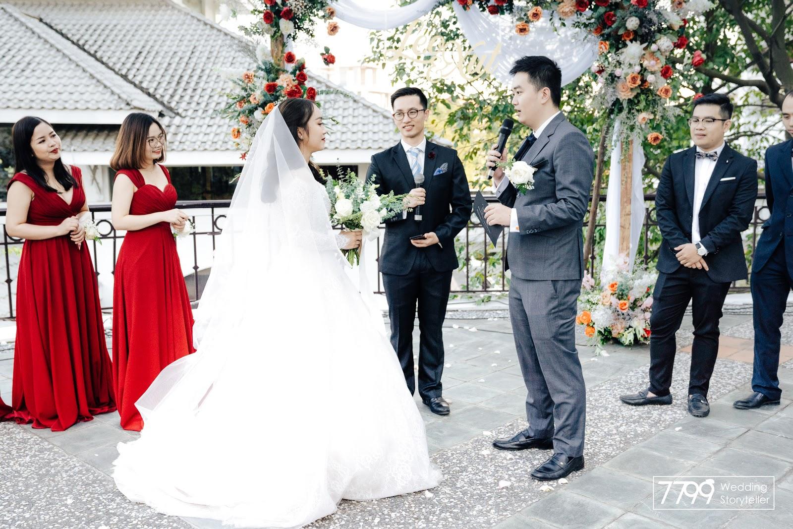Đám cưới Việt Nam - Nghi thức thề nguyện