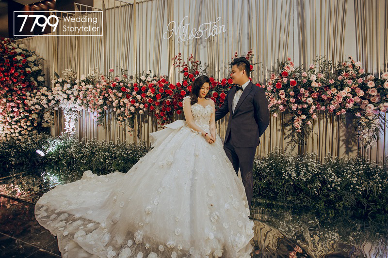 Dịch vụ trang trí cưới hỏi theo yêu cầu tại Hà Nội
