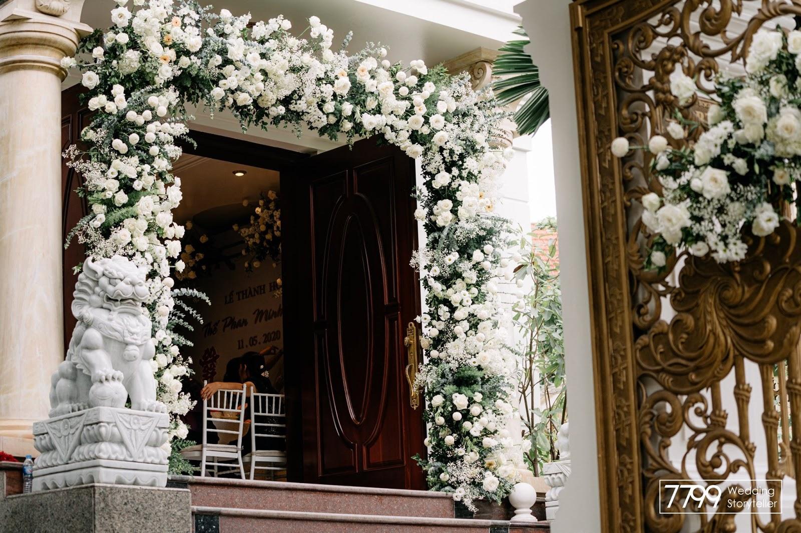 Màu trắng cưới cho Đinh Sửu 1997