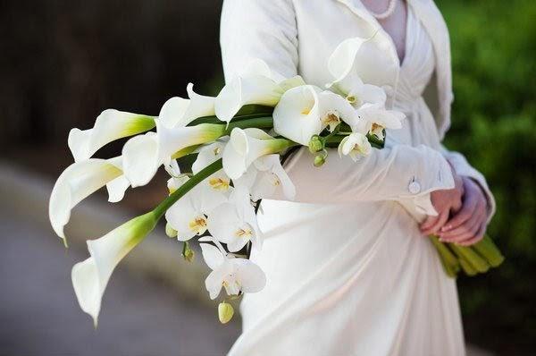 Hoa tay cầm dáng dài