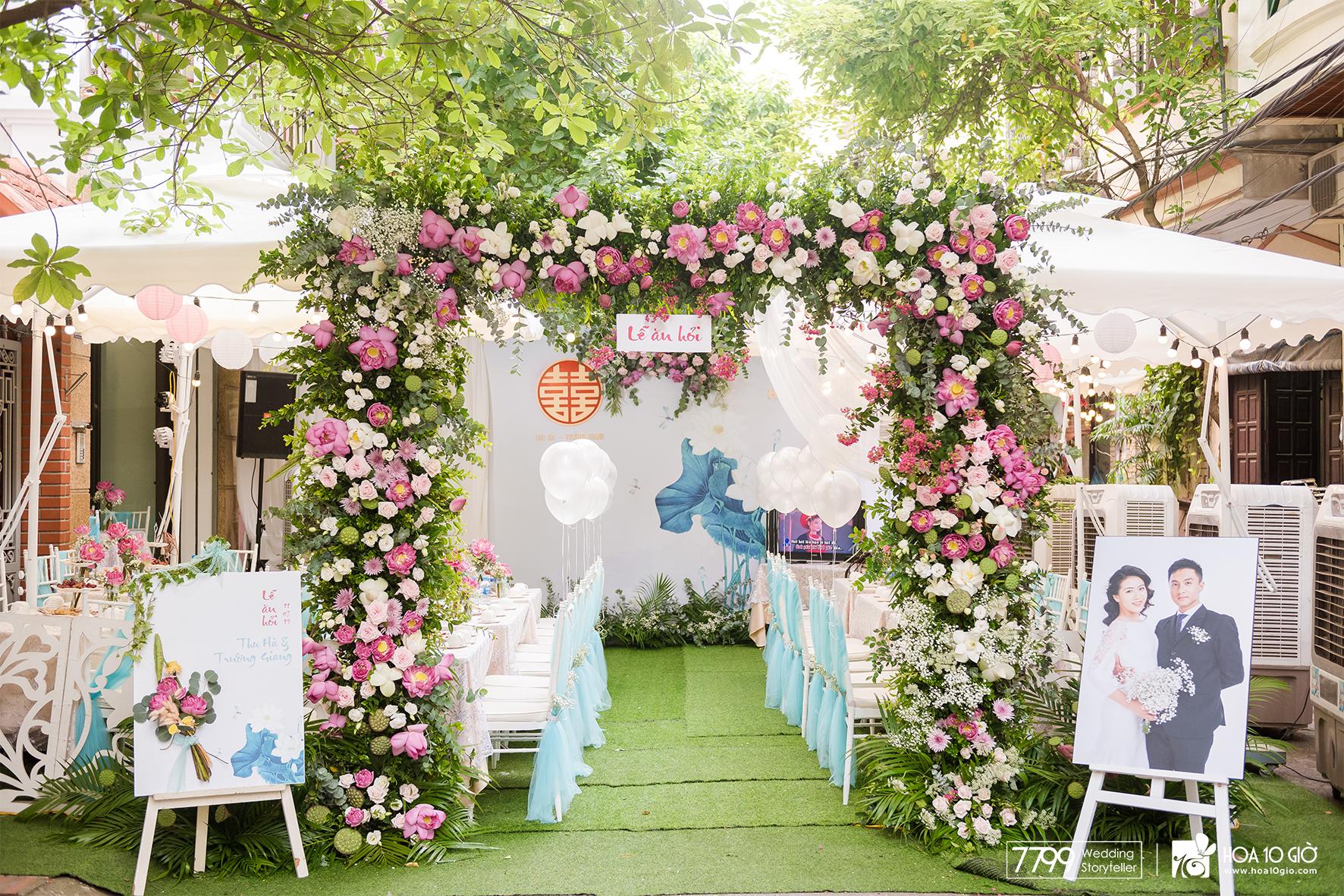 Vì sao hơn 2000 cặp đôi lựa chọn Wedding décor tại 7799?