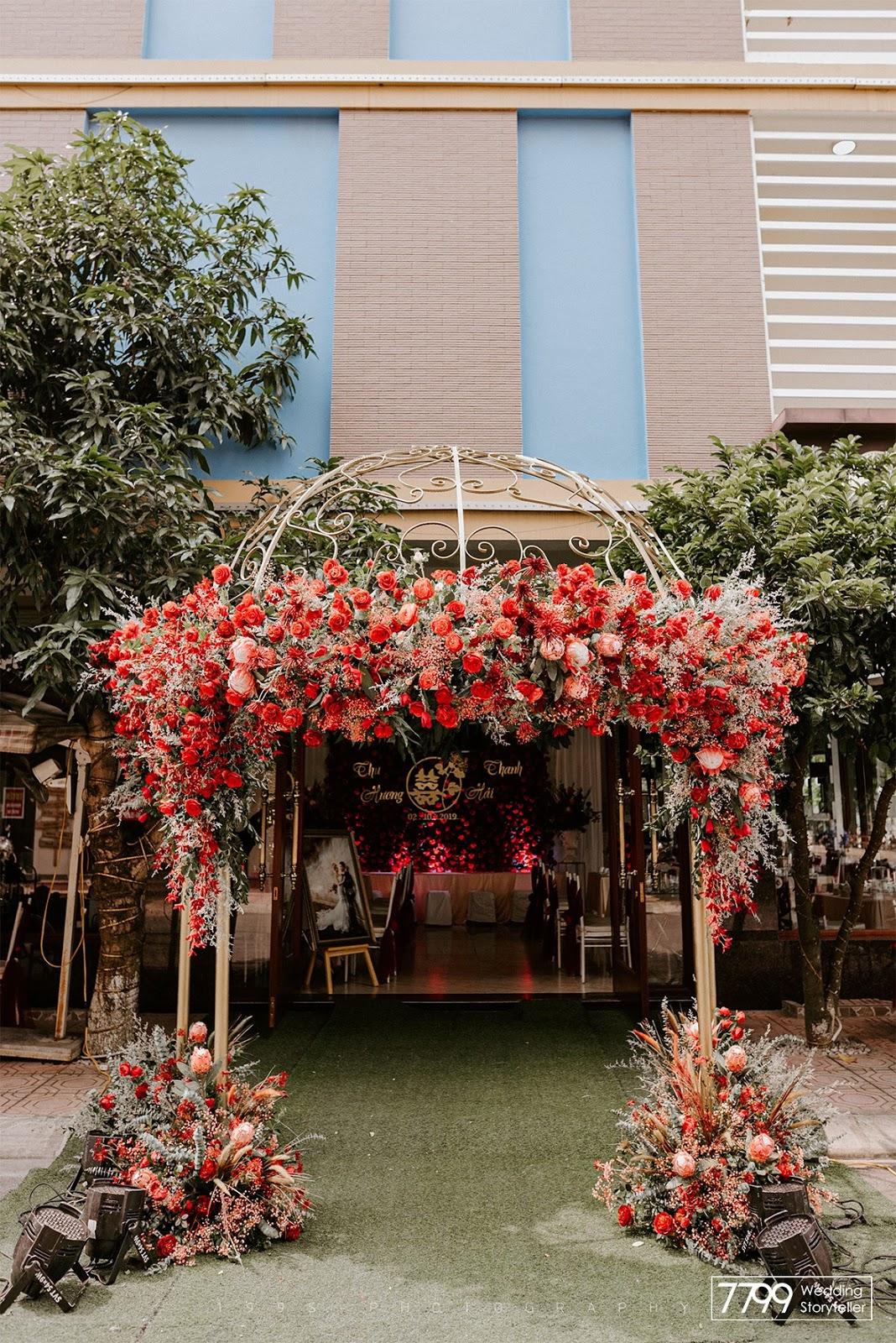 Mẫu cổng hoa công chúa
