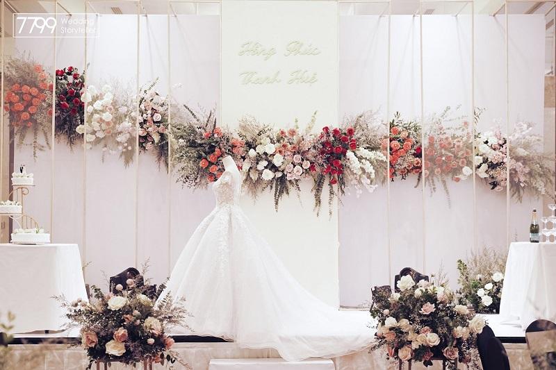 Trang trí đám cưới tại khách sạn InterContinental Hanoi Westlake