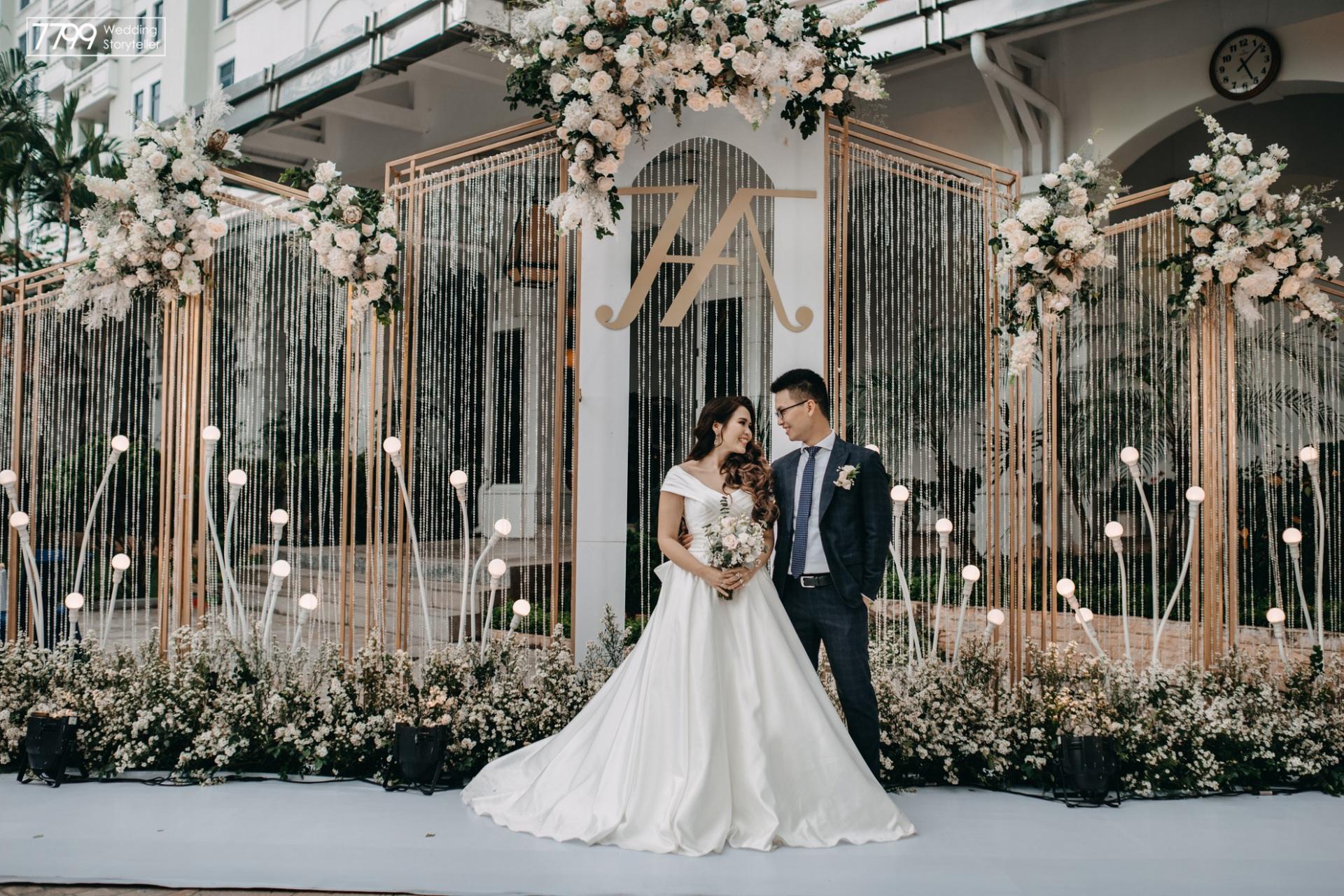 Tiệc cưới ngoài trời - Xu hướng thời thượng của giới trẻ