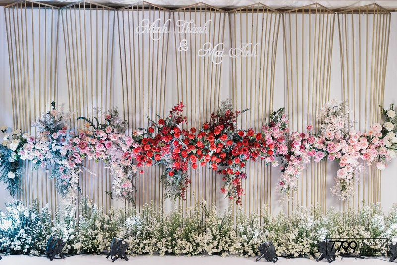 Trang trí đám cưới tại khách sạn Melia Hanoi