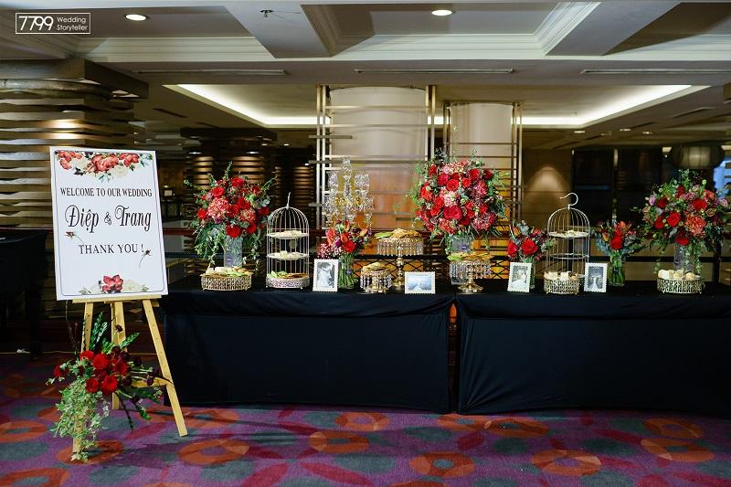 Nhận tổ chức - trang trí đám cưới khách sạn Pan Paciffic
