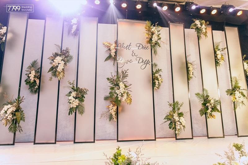 Dịch vụ trang trí đám cưới khách sạn Sheraton Hà Nội