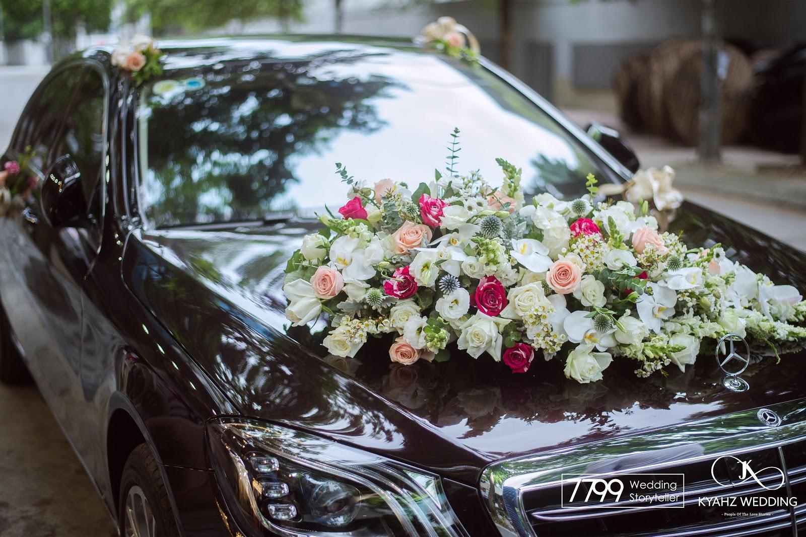 Trang trí đám cưới tại Gara