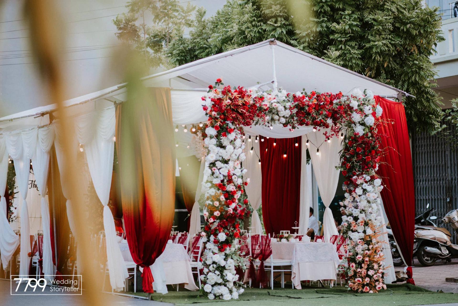 Dịch vụ trang trí đám cưới tại nhà Hà Nội