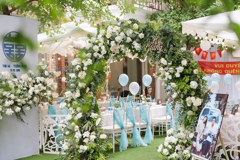 Trang trí đám cưới tư gia độc đáo cùng 7799 Wedding Storyteller