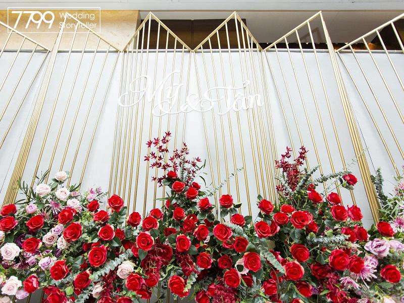 Trang trí - tổ chức đám cưới tại khách sạn JW Marriott
