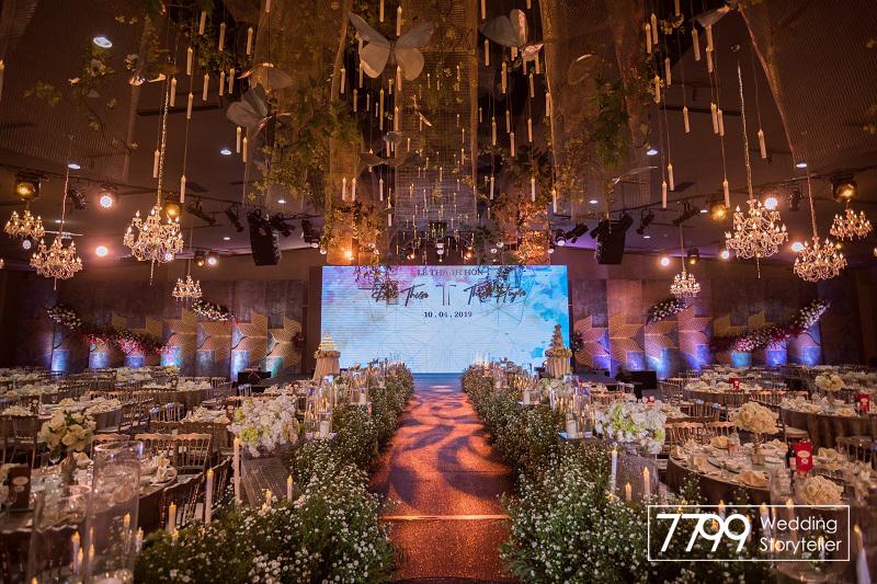 Trang trí - tổ chức đám cưới tại Long Vỹ